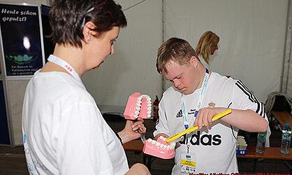 Gesunde Zähne für ganz besondere Sportler